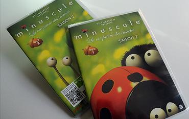 Minuscule Saison 2 en 2 volumes DVD