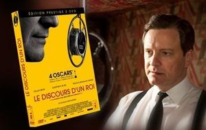 Le Discours d'un Roi de Tom Hooper en DVD