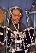 Le batteur : Lloyd Knibb