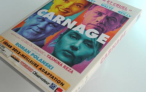 Carnage de Roman Polanski en DVD