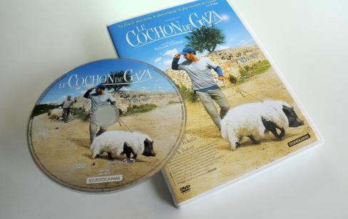 Le Cochon de Gaza de Sylvain Estibal en DVD