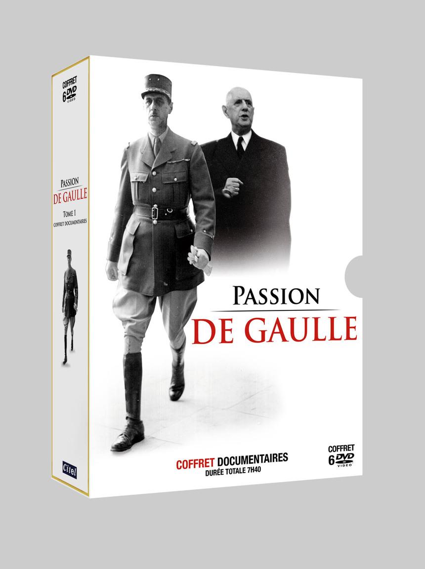 Passion de Gaulle, un Coffret 6 DVD