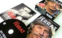 """Coffret collector Jean Ferrat : le CD de ses premiers succès et sa biographie """"Le chant d'un révolté"""""""